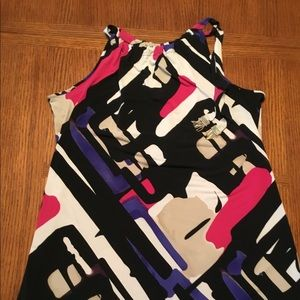 Alfani tunic with cute tie details!